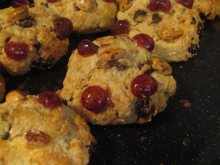 Freshly baked Fat Rascals